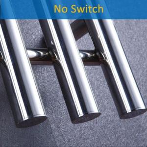 Широкая хромированная отделка с подогревом полотенцесушитель подогреватель скрытый/открытая проводка электрическое Полотенце радиатор полотенцесушитель HZ-920A - Цвет: Белый