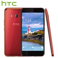 EU Version HTC U11 4G LTE Mobile Phone 2160P Snapdragon 835 Octa Core IP67 4GB RAM 64GB ROM 5.5 Single SIM Android Smart Phone