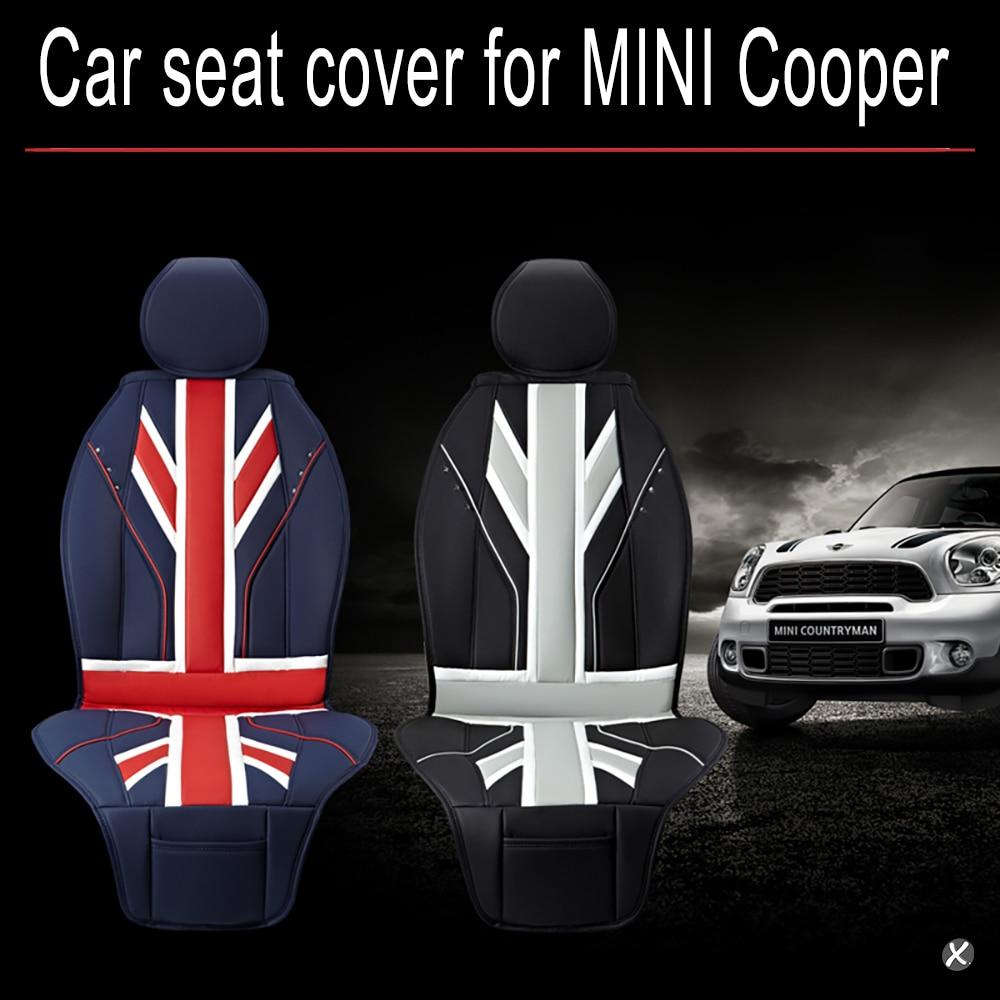 Mini cooper rubber floor mats uk - Car Seat Covers Full Pu Leather Luxury Union Jack Uk Flag For Bmw Mini Cooper F56