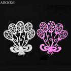 ABOOM New 1PC Balloon Metal Die Cutting Dies Scrapbooking Embossing Folder Suit For Cutting Machine Cut Die Template Stencils