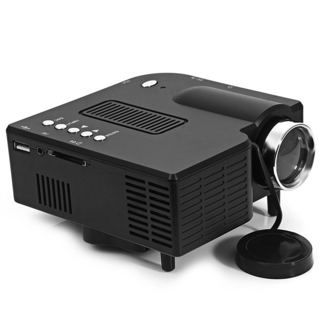 Factory Supply Cheap Price Handy HDMI USB Projector Built In Speaker Mini HDMI Beamer Work For PS Game Home Entertainment