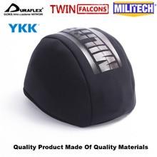 MILITECH Twinfalcons TW หมวกกันน็อกกระเป๋าทำจากไนลอนคุณภาพสูง Neoprene และตาข่าย YKK Zipper UTX หัวเข็มขัดสำหรับ FAST Mich PASGT หมวกนิรภัย