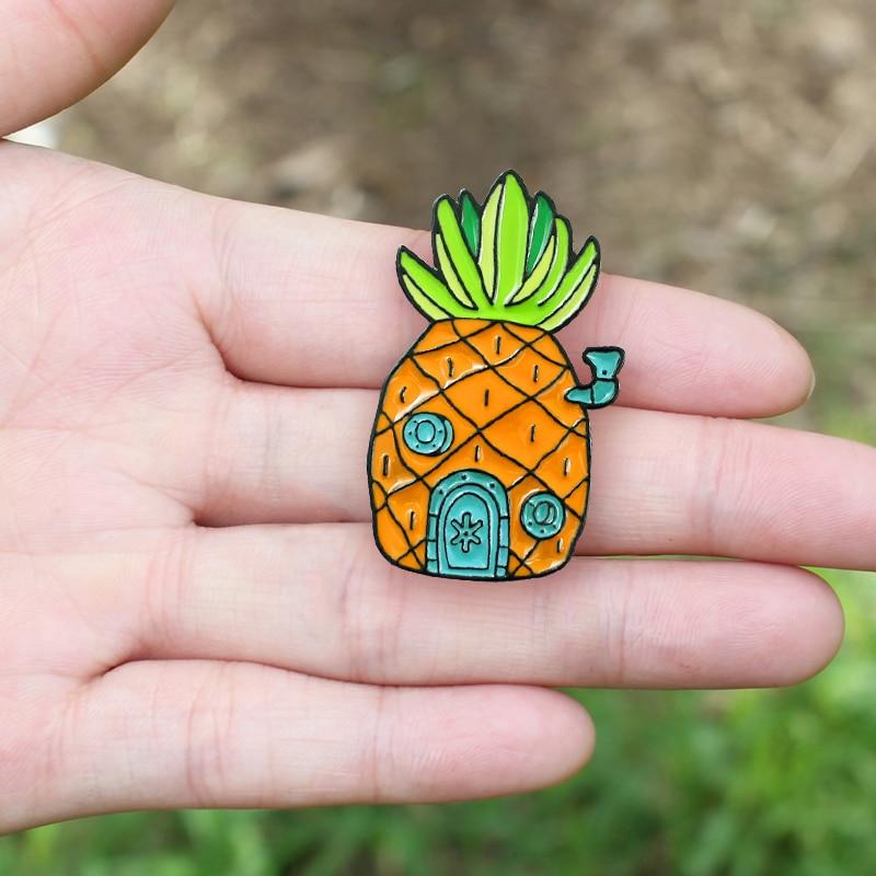 胸针菠萝15