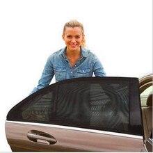 1 Unidades Fácil Instalación Coche Anti-mosquito de la cortina de aislamiento Protector Solar parasol Anti-mosquitos ventana cubierta de tela con corrientes de aire pantallas
