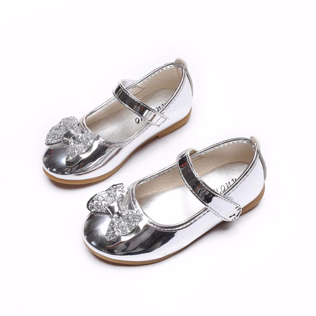 girl shoes patent leather Fashion Princess shoes glitter  Bowknot Dance Toddler Sandals Upper Quality Shoes l0721