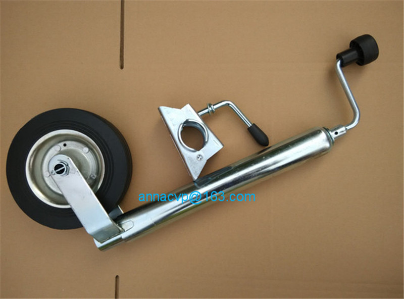 trailer jack stands trailer jack jockey wheel 48mm tube with clamp 1 (2)