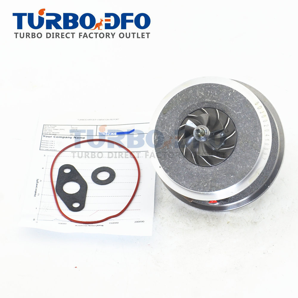 Turbine core assembly for Toyota Yaris From 2004 1 ND 90 HP 17201-0N010 766259 turbocharger cartridge balanced chra on sale