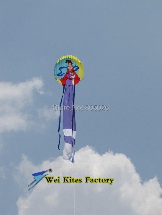 Livraison gratuite haute qualité 12 m chinois traditionnel princesse doux cerfs-volants grand cerf-volant jouets chinois dragon cerf-volant chaîne weikite - 3
