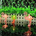 Coconut Tree Red Flamingo LED Bulbs String Light Set Battery Opetated BBQ Patio Party Christmas Wedding Decoration Creative Gift