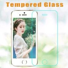 100 ชิ้น/ล็อต 2.5D สำหรับ iphone XR XS mas 5 5 6 s 6 7 8 plus HD ฟิล์มป้องกันความแข็งแกร่ง + ชุดทำความสะอาด