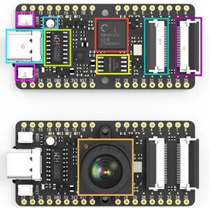 Image 5 - LUSYA Sipeed MAIX קצת AI פיתוח לוח עבור ישר טיפוס עם מצלמה + מסך K210 M12 T0652