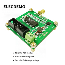 AD9220 Module High Speed AD Data Acquisition Module 12-Bit ADC Module 10MSPS Sample Rate Function demo Board ad7606 module stm32 processor synchronize 8 bit 16 bit adc 200k sampling