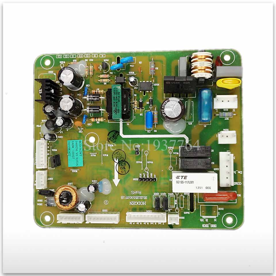 99% new for Hisense refrigerator computer board circuit board BCD-562WT 1606496 board good working brass copper famous three kingdoms guan ping zhou cang guan gong warrior god set