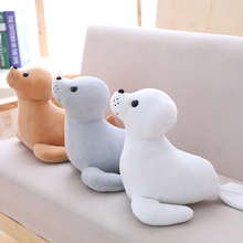 35 cm  Stuffed Sea Lion Plush Toy Soft Pillow Cute Cartoon Animal Seal Toy Cushion Doll for Kids  Children's Gift 7 colors 40 30 cm plush toy stuffed animal doll anime toy cat skin girl kid cute cushion