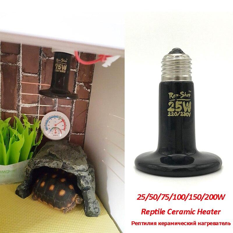Pet Heating Light Bulb Mini Infrared Ceramic Emitter Heat