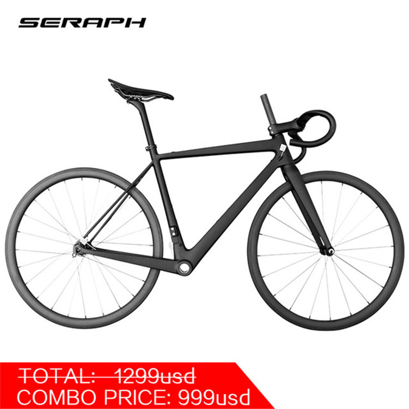 SERAPH Superlight Black  Complete Bike  22 Speed 700*25C Tire Complete Carbon Road  Bicycle FM686