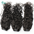 8-30inch 100% Virgin Brazilian Ocean Wave Human Hair Weft 6A Natural Color Water Wave Human Hair Extensions 3 Bundles 300g
