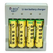 4pcs 1 5v 3000mWh no memory effect aa rechargeable Li polymer li ion polymer lithium battery
