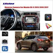 Liislee For Mazda CX-5 CX 5 CX5 2015 2016 2017 Car Reverse Rear View Camera / Connect The Original Factory Screen / RCA Adapter for mazda cx 5 cx 5 cx5 2012 2017 ccd night vision intelligent car parking camera with tracks module rear camera