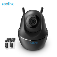 Reolink 100 Wire Free Battery Camera 1080P Full HD WiFi IP Cam Pan Tilt Security Indoor