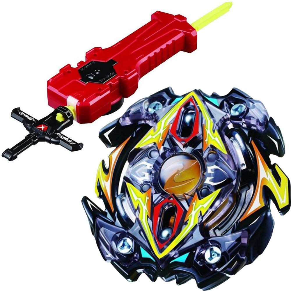 Toys & Hobbies 100% Quality Zillion Zeus Zeutron Burst Spinning Top Starter Set With Sword Launcher Anime Toy Estadio Spinning Top To Help Digest Greasy Food