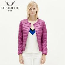 BOSIDENG womens clothing down coat winter coat regular jacket ultra light solid spring coat clearance sale B1501610 B1501612