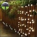 Envío libre 4.8 M 20 led Chuzzle Bola Solar Powered LED Al Aire Libre Luces de la Secuencia de Hadas de Luz para el Banquete de Boda