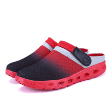 Men Summer Sandals Breathable Mesh Sandal Summer Beach mens Shoes Water man Slippers Fashion Slides Cheap Shoes