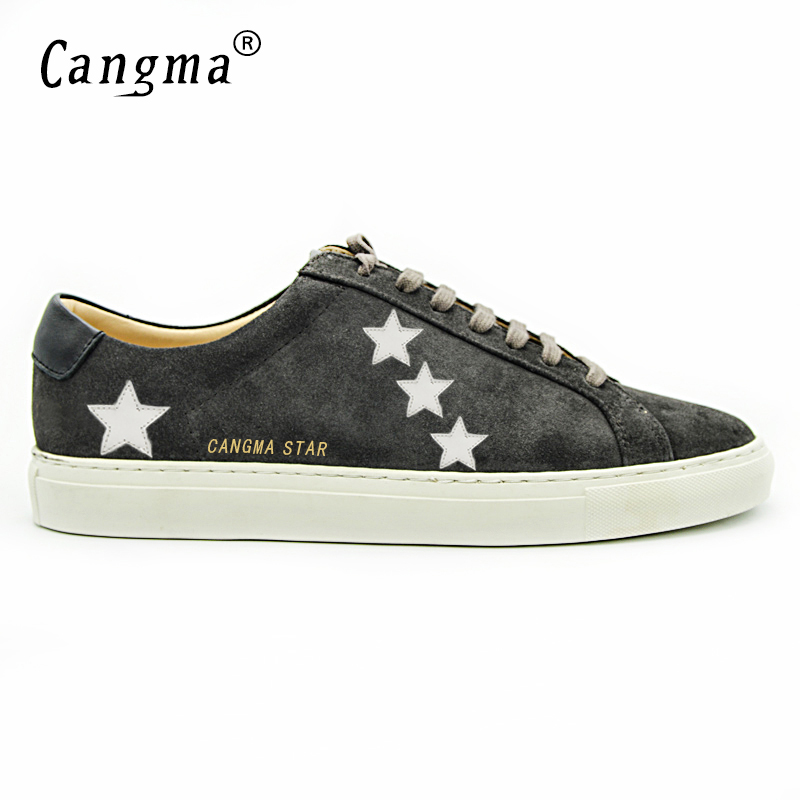 CANGMA 2017 Italy Deluxe Brand Superstar Men Designer Shoes Male Sheepskin  Casual Darkgray Handmade Shoes Zapatillas Deportivas-in Men s Casual Shoes  from ... 51aee8003259
