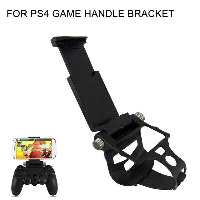 משחק בקר חכם טלפון קליפ מהדק הר מתכוונן סוגר מכשיר לסמסונג iphone מחזיק PS4 משחק בקר