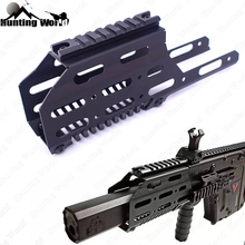 Tactical Drop In Free Float handguard Sight Scope Mount with 20mm Top Picatinny rail for Hunting Airsoft LeHui KRISS VECTOR V2 цена