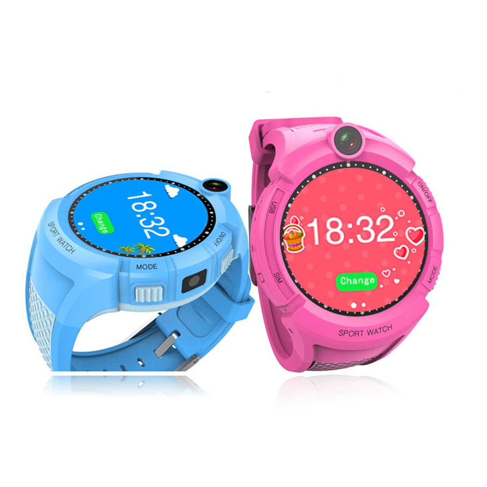 Offre spéciale Q610 Q90 GPS téléphone montre enfant coffre-fort écran tactile montre intelligente SOS appel localisation localisateur traqueur pour enfant Anti perdu