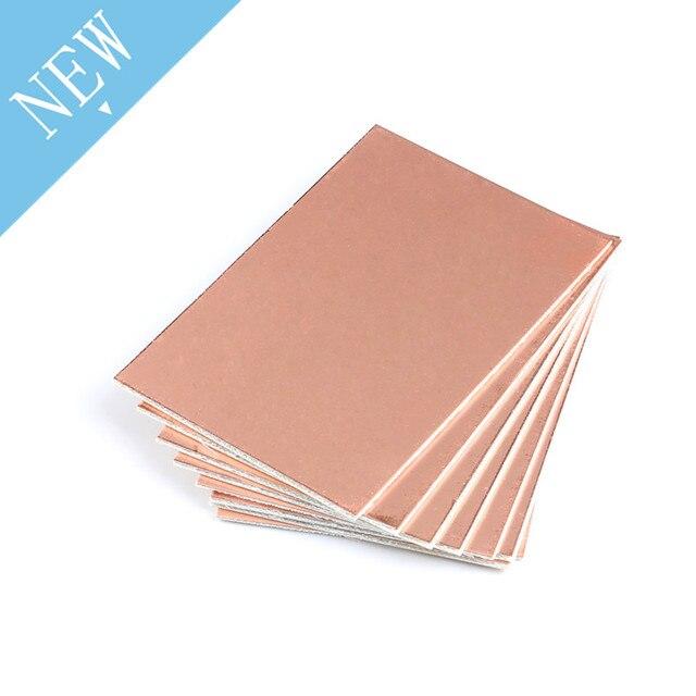 5 pcs 7*10 CM Single Side Bảng Mạch Copper Clad Tấm Laminate Phổ PCB Circuit Board Bảng Sợi Thủy Tinh tăng cường Đồng