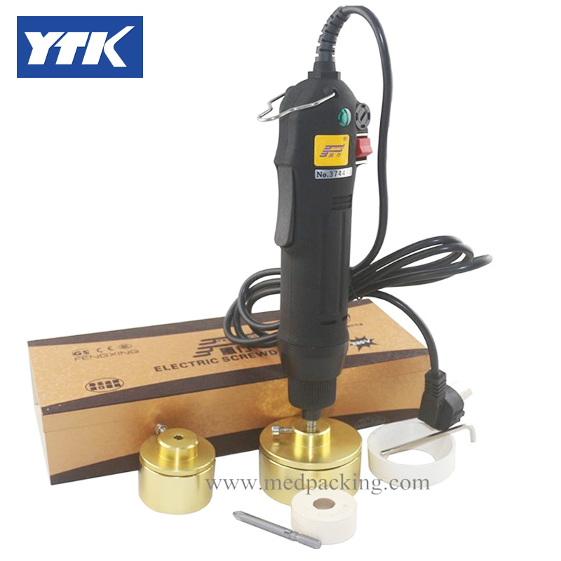 YTK Electric Capping Machine for screw cap grind