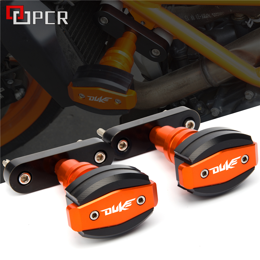High quality Motorcycle CNC Frame Sliders Anti Crash Protector Falling protection For KTM Duke 125 200