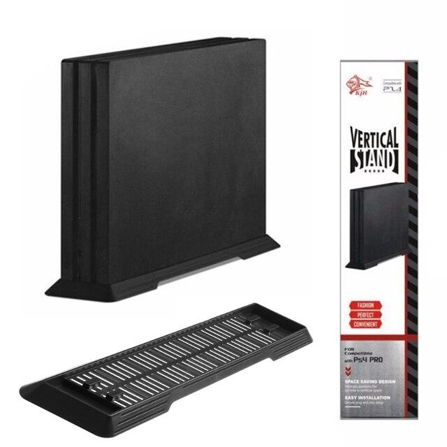 OOTDTY вертикальная подставка держатель док-станция для PS4 Pro Аксессуары игровой консоли