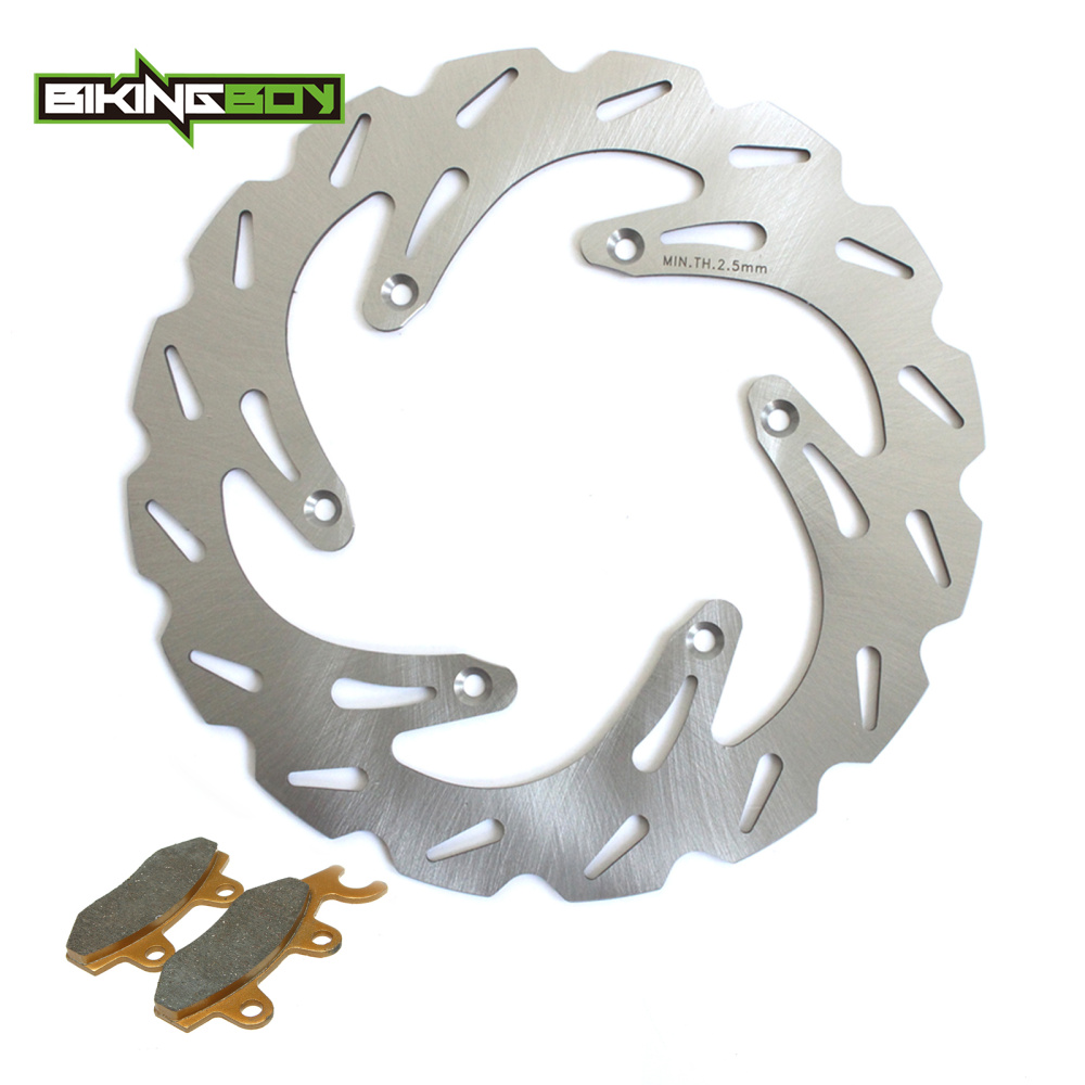 BIKINGBOY MX Offroad Front Brake Disc Disk Rotor Pads For Suzuki RM 125 250 1988 1995