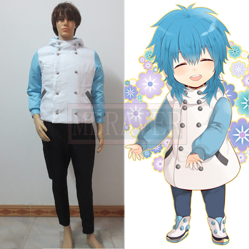 Dramatical Murder DMMd Seragaki Aoba Youth Cosplay Costume  Jacket Coat And Pants Custom Made