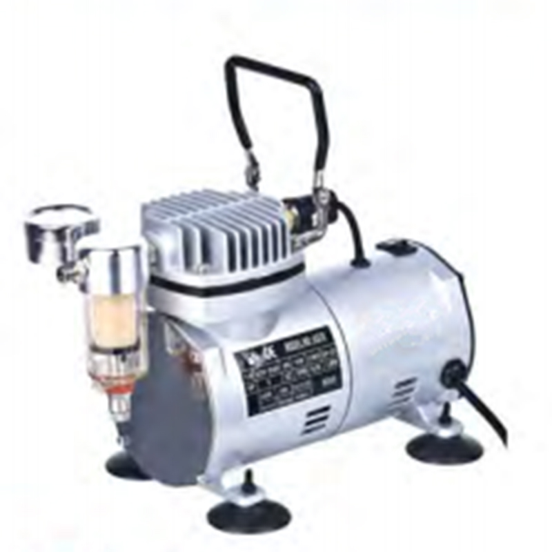 50HZ 220V AC 20-23L/MIN 1/6HP Small Electric Piston Vacuum Pump Airbrhsh Compressor MS18-1