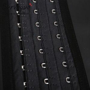 Image 5 - לטקס מותניים מאמן Burvogue 25 פלדה גרומה נשים Underbust מחוך חגורת Cincher מותניים הרזיה Shaper