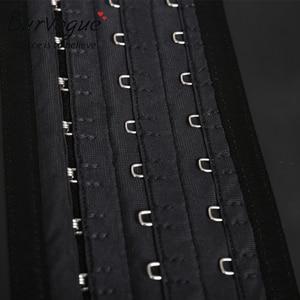 Image 5 - ラテックスウエストトレーナー Burvogue 25 鋼骨太女性アンダーバストコルセットベルトニッパーウエスト痩身シェイパー