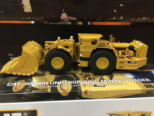 1/50 Caterpillar Cat R3000H Underground Mining Loader By Diecast Masters #85297 цена
