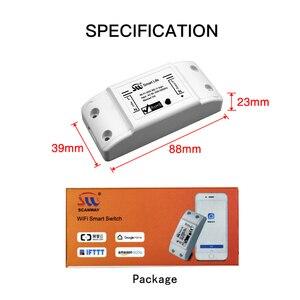 Image 5 - Interruptor de luz inteligente universal, faça você mesmo, temporizador wireless, controle remoto funciona com alexa do google home, 4 peças