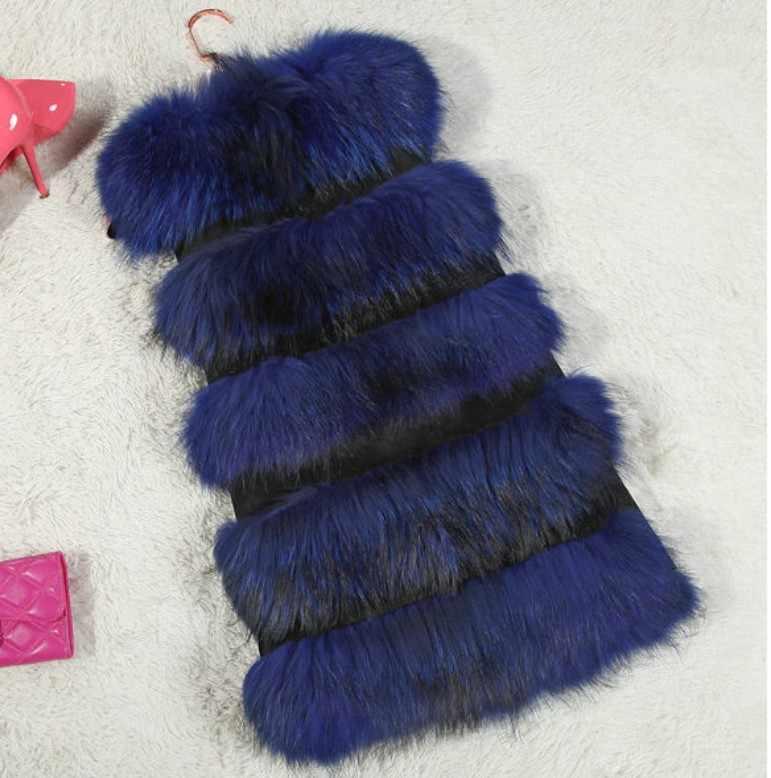 1d1df6b4a37 ... Imitation fox fur vest coats female Fluffy Women Fur Coats Thick Warm Sleeveless  Faux Fur Coat ...