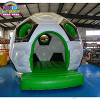Inflatable Unicorn Jumping Bouncy Castles Air Bounce House,Playground Trampoline Hollow Ball Soccer Jumping Castle