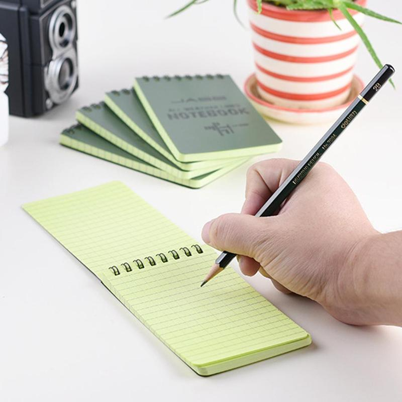 Tactical Notebook All-weather Waterproof Writing Notebook Military Outdoor Camping 50 Pages