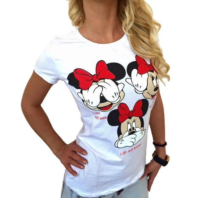 Plus Size Women Clothing T Shirts Streetwear 2018 Summer Fashion Print Harajuku Hip Hop Funny Casual T-shirt Tops Hipster Tumblr