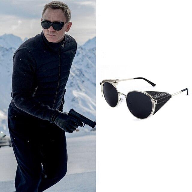 Brand designer sunglasses men women oculo oculos gafas de sol feminino masculino women's men's Steam punk lunette de soleil