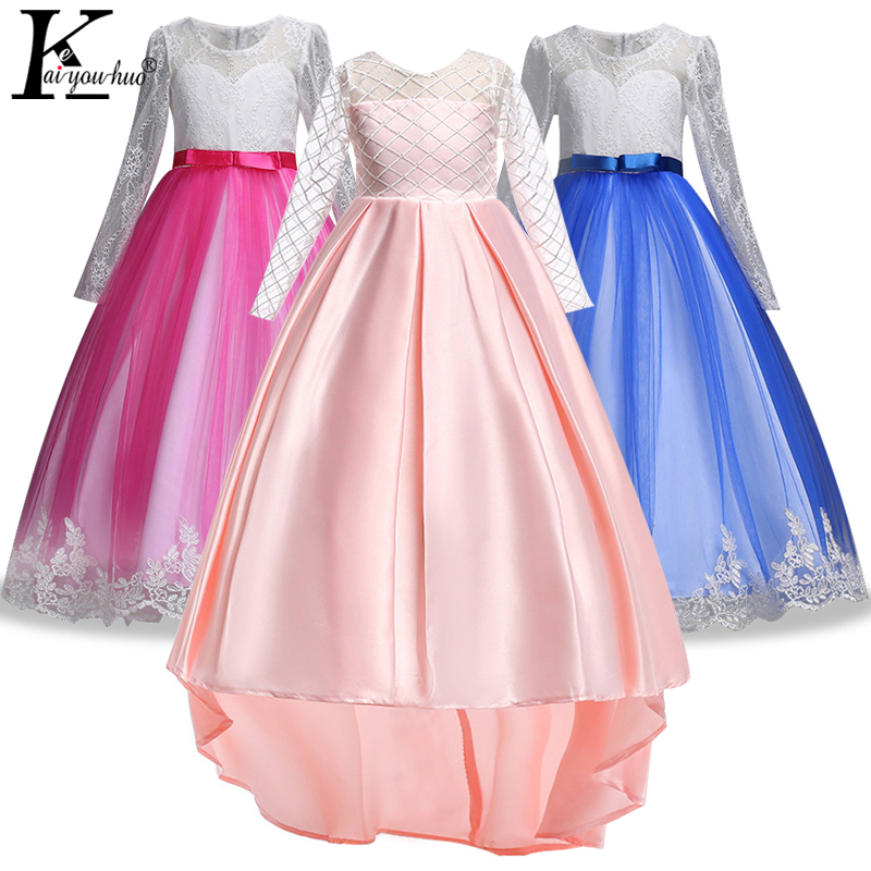 Girls Wedding Dress Elegant Children Clothing Girls Moana Dress Summer Maxi Kids Dresses For Girls Princess Tutu Dress Vestidos tara jarmon бермуды