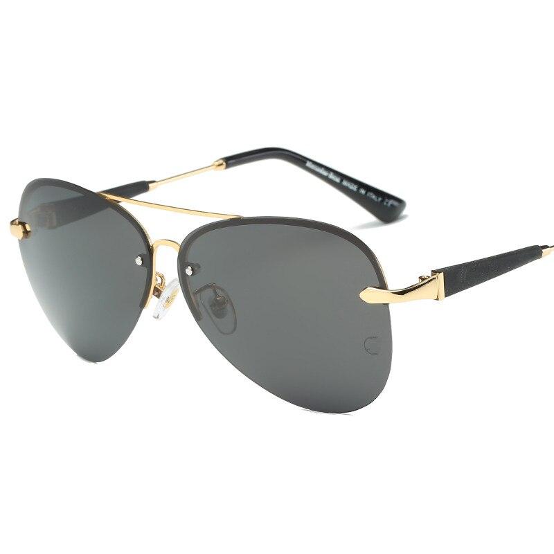 Marca Polarizada Óculos De Sol Dos Homens Óculos de Sol Da Moda Viagens de Condução Masculino Óculos Oculos Mercedes óculos de sol 743